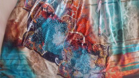farebné šaty, L