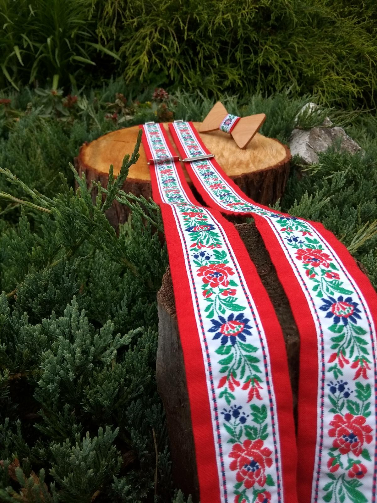 c858f760e Pánsky set - drevený motýlik a traky, - 37 € | Svadobný bazár |  Mojasvadba.sk
