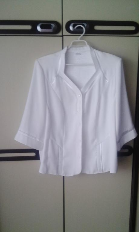 biela bluzka, 48