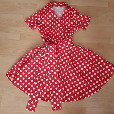 Retro šaty, L