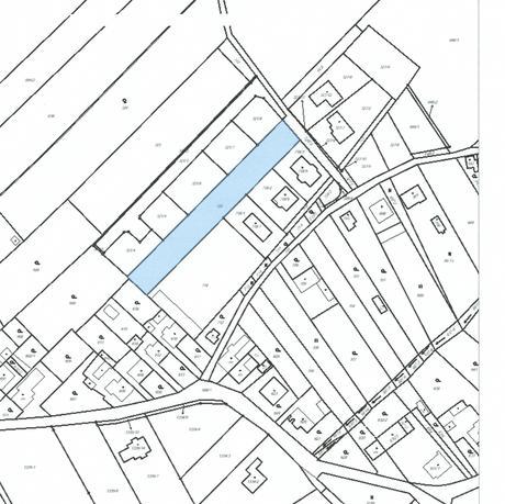 stavební pozemek,1000 Kč za m2, Štěpánovice,