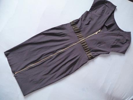 Tmavo modré šaty S/M, S