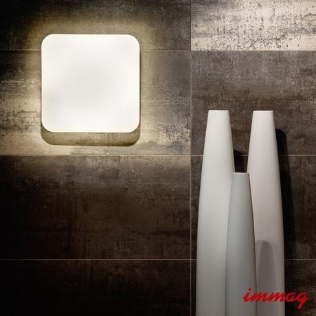 Bílé LED svítidlo Eglo Giron 22 x 22cm,