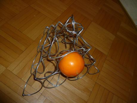 Drôtený kôš na ovocie-trojuholník,