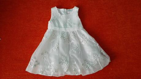 Sviatočné šaty 9-12 mes, 80