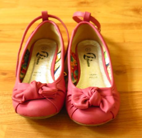 růžové balerínky bata, 31