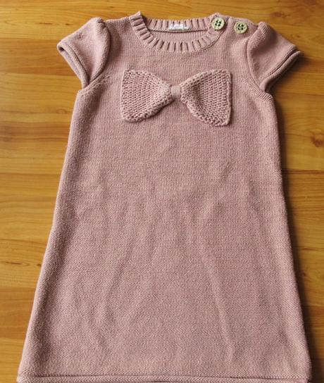 úpletové šaty next, 104