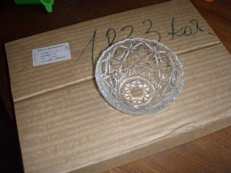 nepoužívané kompótové / šalátové misky - sklo,
