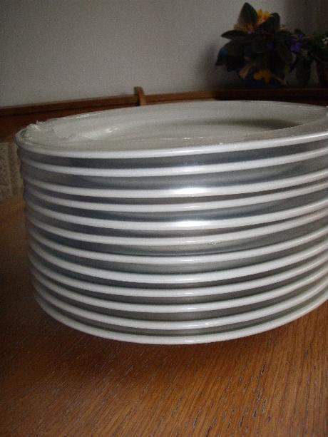 Plytké taniere - nerozbalené 12ks,