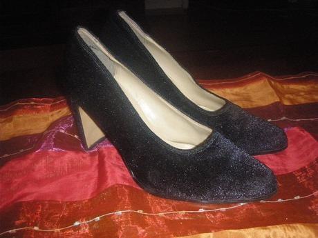 spoločenské trblietavé topánky, 38