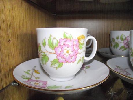 Kávová alebo čajová súprava,