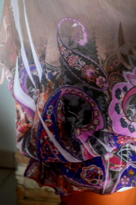 Romantická bluzka Charlotte Russe, velkost M/L, M