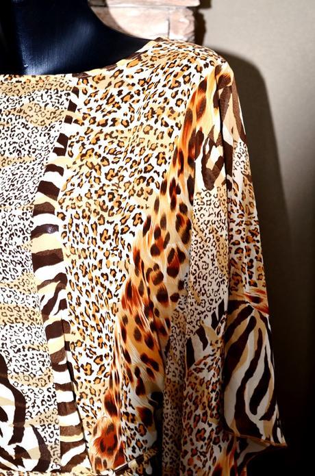 Tigrovaná bluzka, velkost 40/42, nenosena, 40