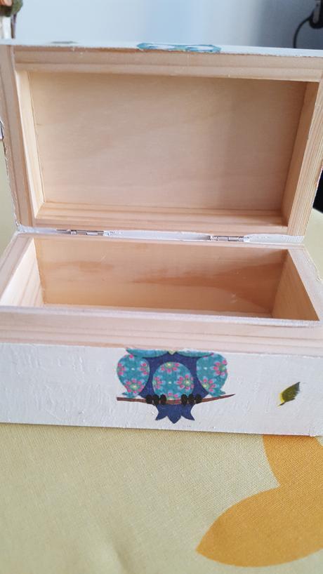 Tombola - dřevěná krabička,