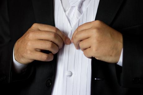 Svadobná vesta s kravatou, 48