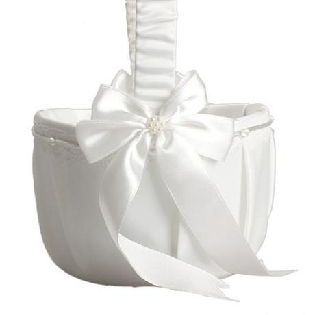 Svatební košíček pro družičky,