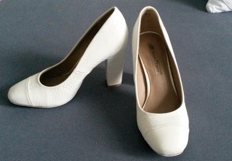 Bílé svatební botičky, 35