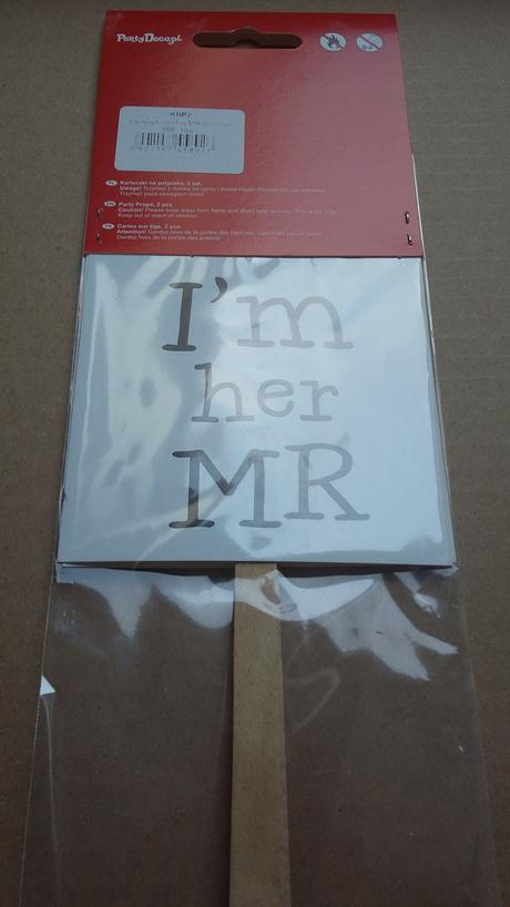 I'm her Mr, I'm his Mrs / fotokoutek / rekvizity ,