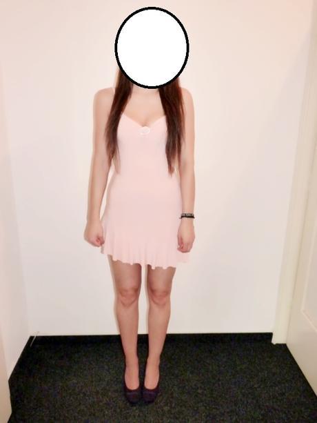 Meruňkové taneční šaty , 38