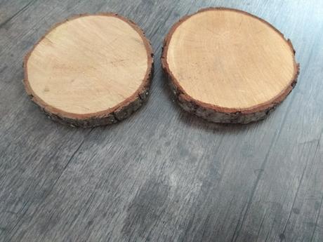 Dřevěná kolečka/podtácky,