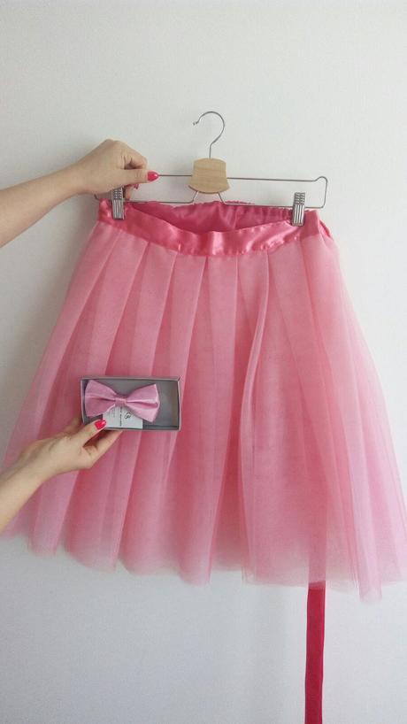Ružová TUTU sukňa, 38