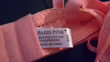 2 ks Podprsenka PARIS PINK US 38B , 85B
