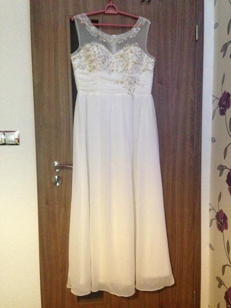 Svadobné alebo spoločenské šaty - 44, 44