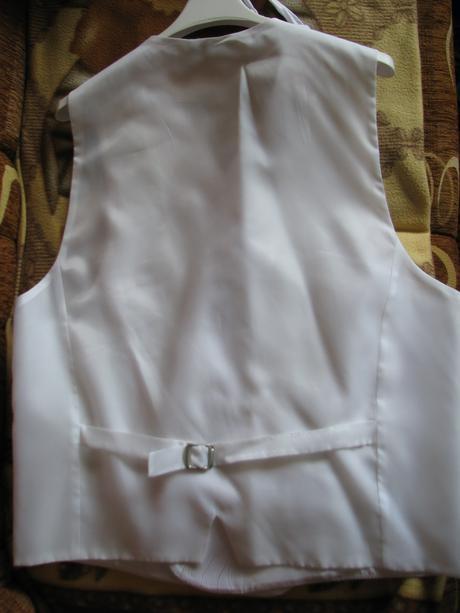 Svadobná vesta + kravata, 54