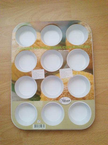 Levandulovo / Biela - Forma na muffiny - Provence ,