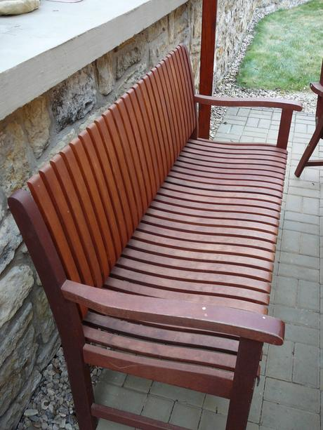 zahradní nábytek - meranti,