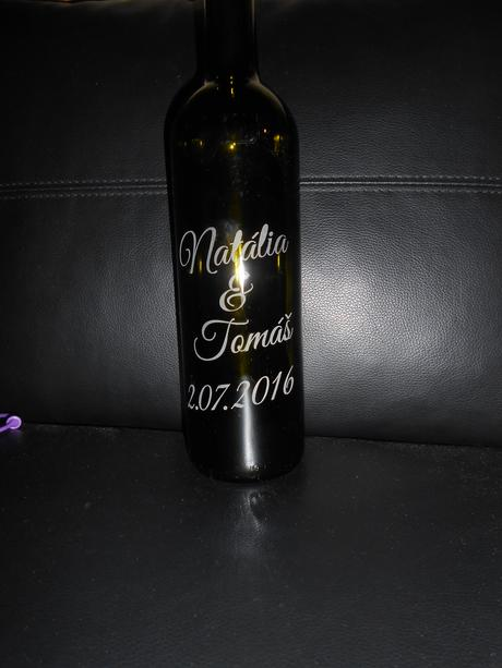 Flasa na vino,