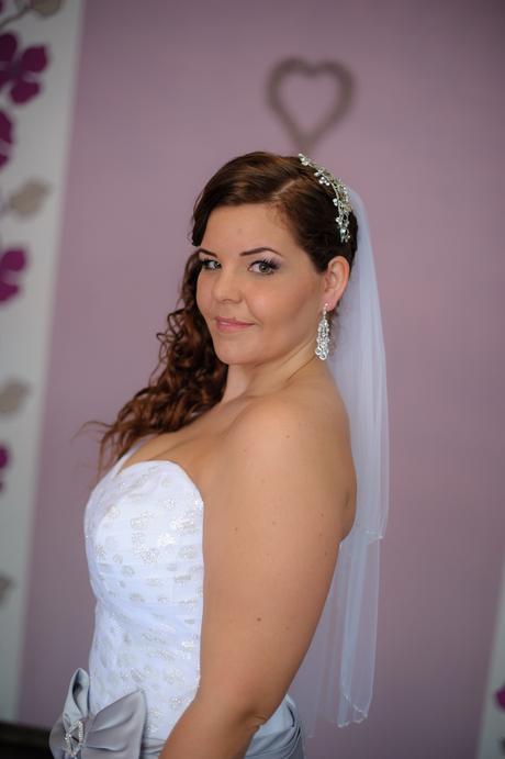náušnice svadobné,
