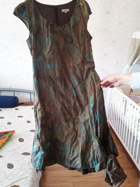 """šaty """"maskáčové"""", 44"""