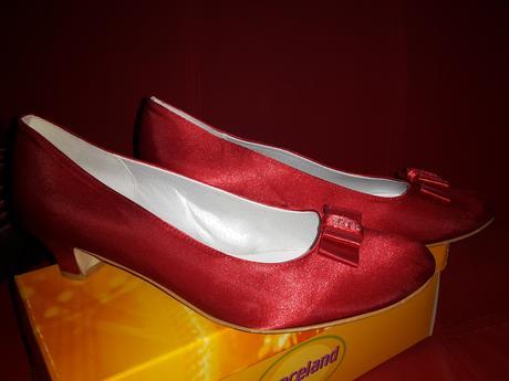 Topánky červené 41, 41