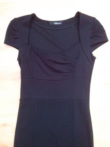 Černé šaty Jane Norman, vel.8, 36