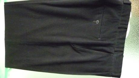čierne chlapčenské nohavice, 38