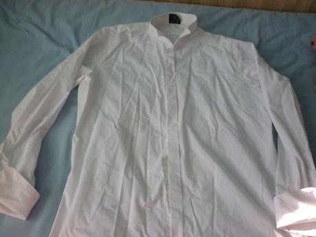 pánska košeľa s dlhým rukávom, 42