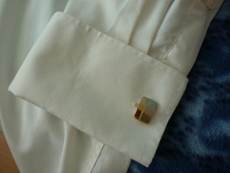 svadobná maslová košeľa, 38