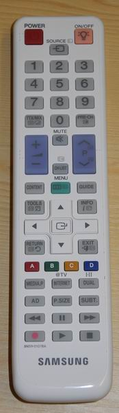 Diaľkový ovládač Samsung,
