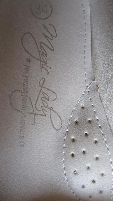 1 x obuté balerínky - veľ. 34 - 21,5 cm, 34