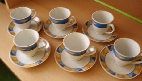 Nepoužitá kávová - čajová súprava,