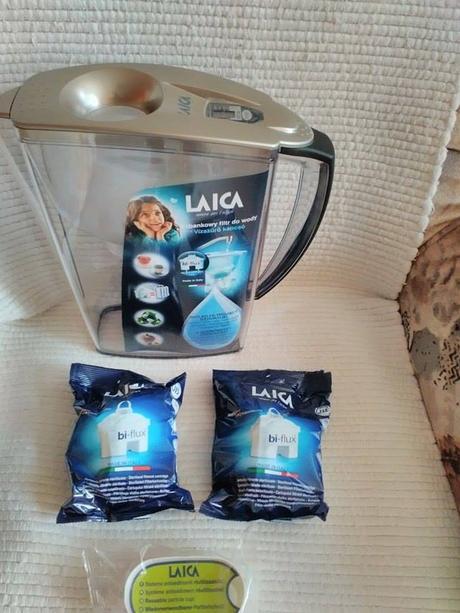Nepoužívaná filtračná kanvica - Laica,