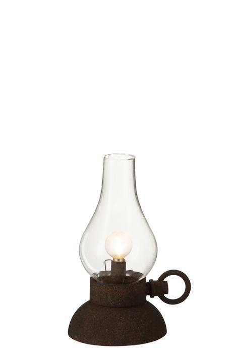 Dekoratívna stolová lampa led na batérie,
