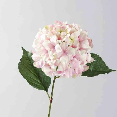 Dekoratívny hodvábny kvet hortenzia,