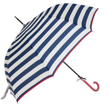 ZĽAVA - Dáždnik pruhovaný v námorníckom štýle,