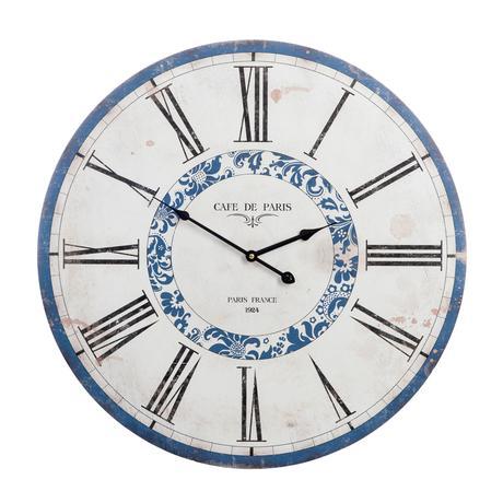 ZĽAVA - Dekoratívne hodiny cafe de paris,