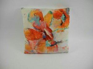 ZĽAVA - Dekoratívny vankúš art kvet,