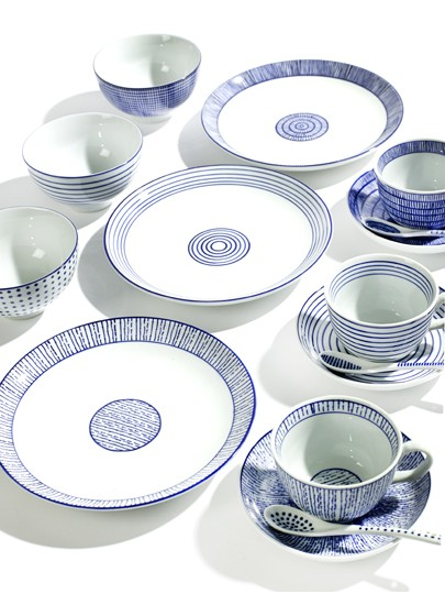 ZĽAVA - Dizajnové dezertné taniere zn.SERAX  3ks,