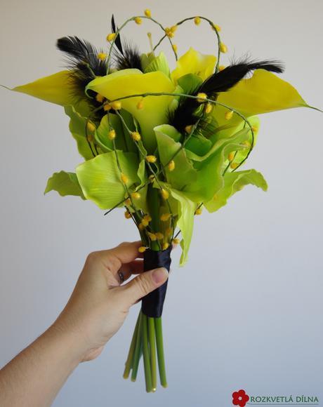 Kaly a amarylis - netradiční kytice,