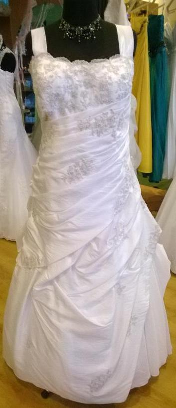 Svadobné šaty veľkosť 48/50, 48
